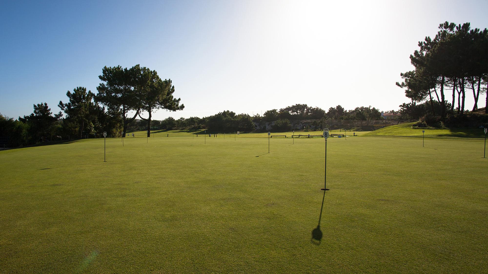 drenagem do solo dos campos de golfe