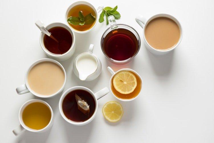 diferença de chá e infusão
