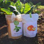 Life in a bag: um conceito original  para criar  uma horta em sua casa