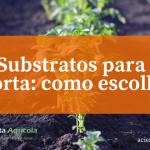 Tudo o que deve saber sobre os substratos para a sua horta